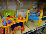 Песочница-стол 8804/M1869, круглая (для воды и песка+игрушки), фото 8