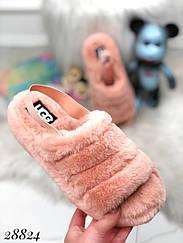 Тапочки Ugg FLUFF YEAH с резинкой на пятке 41 размеры