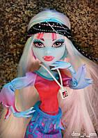 Кукла Monster High Эбби Боминейбл (Abbey Bominable) Музыкальный фестиваль Монстер Хай Школа монстров