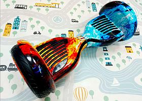 Гироборд Smart Balance 10,5 inch Огонь и лёд