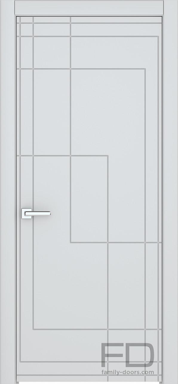 Міжкімнатні двері Модерн 9 (Емаль) FD
