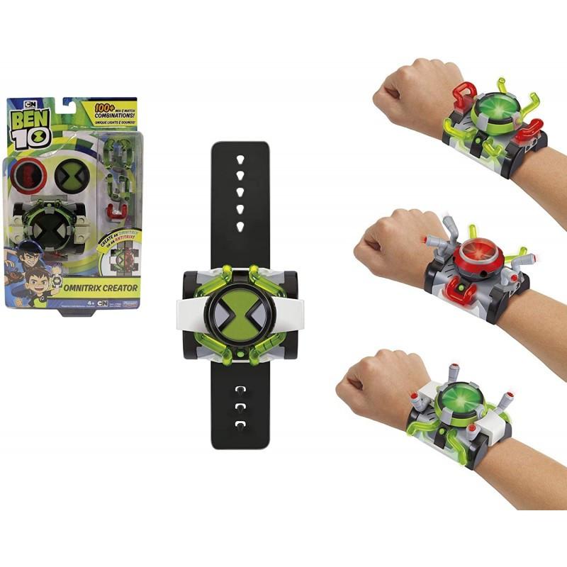 Часы Бен Тен 10 Делюкс Омнитрикс, Создатель, 2в1 Часы Бен Тена и Кевина, Omnitrix Creator из США