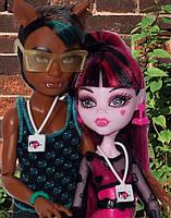 Набор кукол Monster High Дракулаура и Клод Вульф (Draculaura & Clawd) Музыкальный фестиваль Монстер Хай Школа