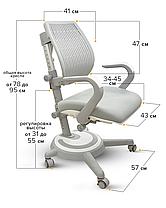 Mealux Ergoback   Детское кресло стул трансформер для школьника, фото 2