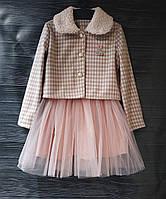 Платья детские для девочек нарядные с болеро, фото 1