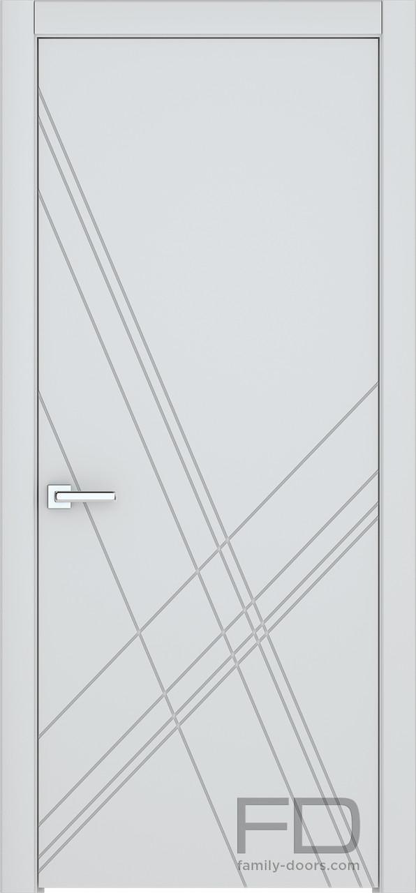 Міжкімнатні двері Модерн 12 (Емаль) FD