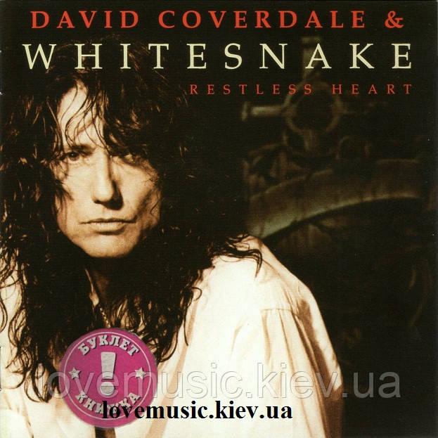 Музичний сд диск WHITESNAKE Restless heart (1997) (audio cd)