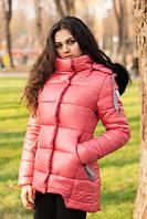 Зимняя куртка парка с капюшоном  р 44-50