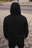 Мужской костюм Softshell черный демисезонный Intruder. Куртка мужская, штаны утепленные + Ключница, фото 5