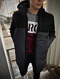 """Демисезонная Куртка """"Fusion"""" бренда Intruder (серая - черная), фото 6"""