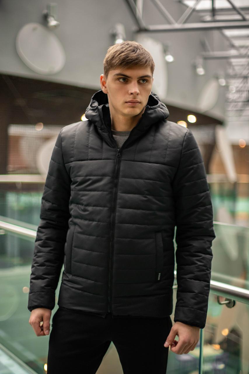 """Демисезонная Куртка """"Temp"""" бренда Intruder (черная)"""
