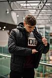 """Демисезонная Куртка """"Temp"""" бренда Intruder (черная), фото 3"""