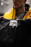 """Демисезонная Куртка """"Temp"""" бренда Intruder (черная), фото 7"""