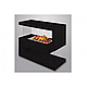 Фронтальный каминокомплект IDamebel Avantgarde M эффект 3D пламени и дыма Opti-Myst с увлажнением, фото 2