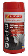 Салфетки для экранов Салфетки для экранов и оптики JOBMAX Buromax BM.0802