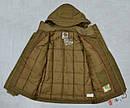 Качественная зимняя куртка для мальчика Mariuzs бежевая (QuadriFoglio, Польша), фото 10