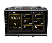 "Автомагнитола штатная Incar DTA-7004 Peugeot 308 07-13, 408 2011+ Black Android 10 9""+Navi"