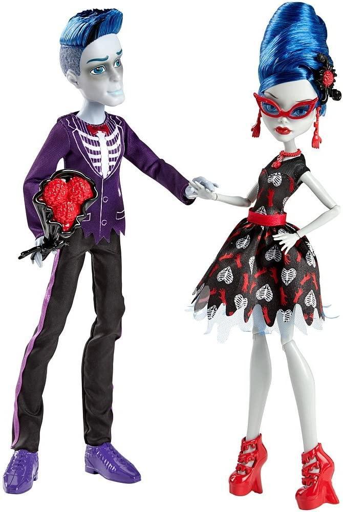 Набор кукол Гулия и Слоу Мо Любовь не умирает Slo Mo & Ghoulia Yelps Monster High Love's Not Dead оригинал