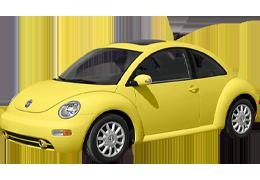 Брызговики для Volkswagen (Фольксваген) Beetle I 1998-2010