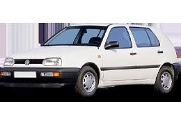 Брызговики для Volkswagen (Фольксваген) Golf III 1993-1997