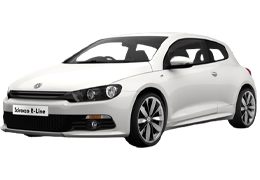 Брызговики для Volkswagen (Фольксваген) Scirocco III 2008-2017