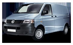 Брызговики для Volkswagen (Фольксваген) T5 2003-2015