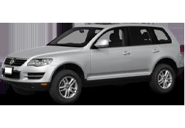 Брызговики для Volkswagen (Фольксваген) Touareg I 2002-2010