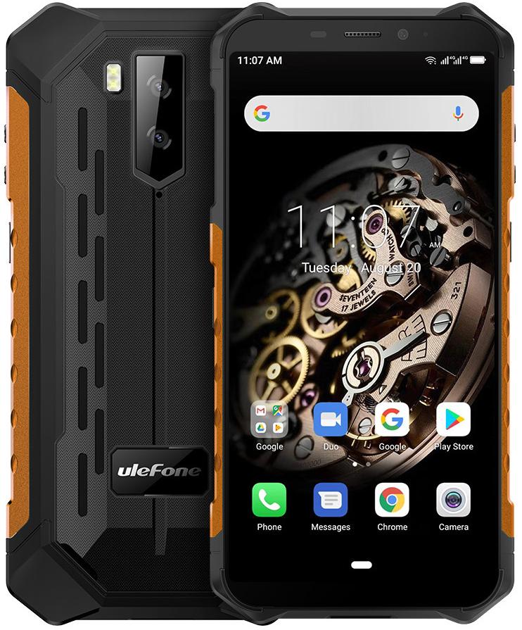 Ulefone Armor X5 Pro | Оранжевый | IP68 | 4/64Гб | NFC | 4G/LTE | Гарантия