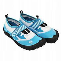 Обувь для пляжа и кораллов (аквашузы) SportVida SV-DN0009-R34 Size 34 Blue/White, фото 1