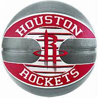 Мяч баскетбольный Spalding NBA Team Houston Rockets Size 7