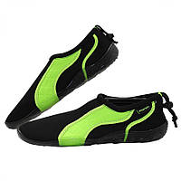 Обувь для пляжа и кораллов (аквашузы) SportVida SV-GY0004-R43 Size 43 Black/Green, фото 1