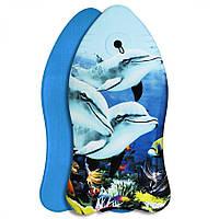 Бодиборд-доска для плавания на волнах SportVida Bodyboard SV-BD0002-2, фото 1