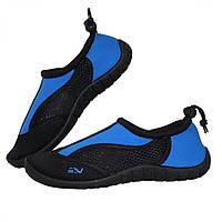 Обувь для пляжа и кораллов (аквашузы) SportVida SV-GY0002-R38 Size 38 Black/Blue, фото 1