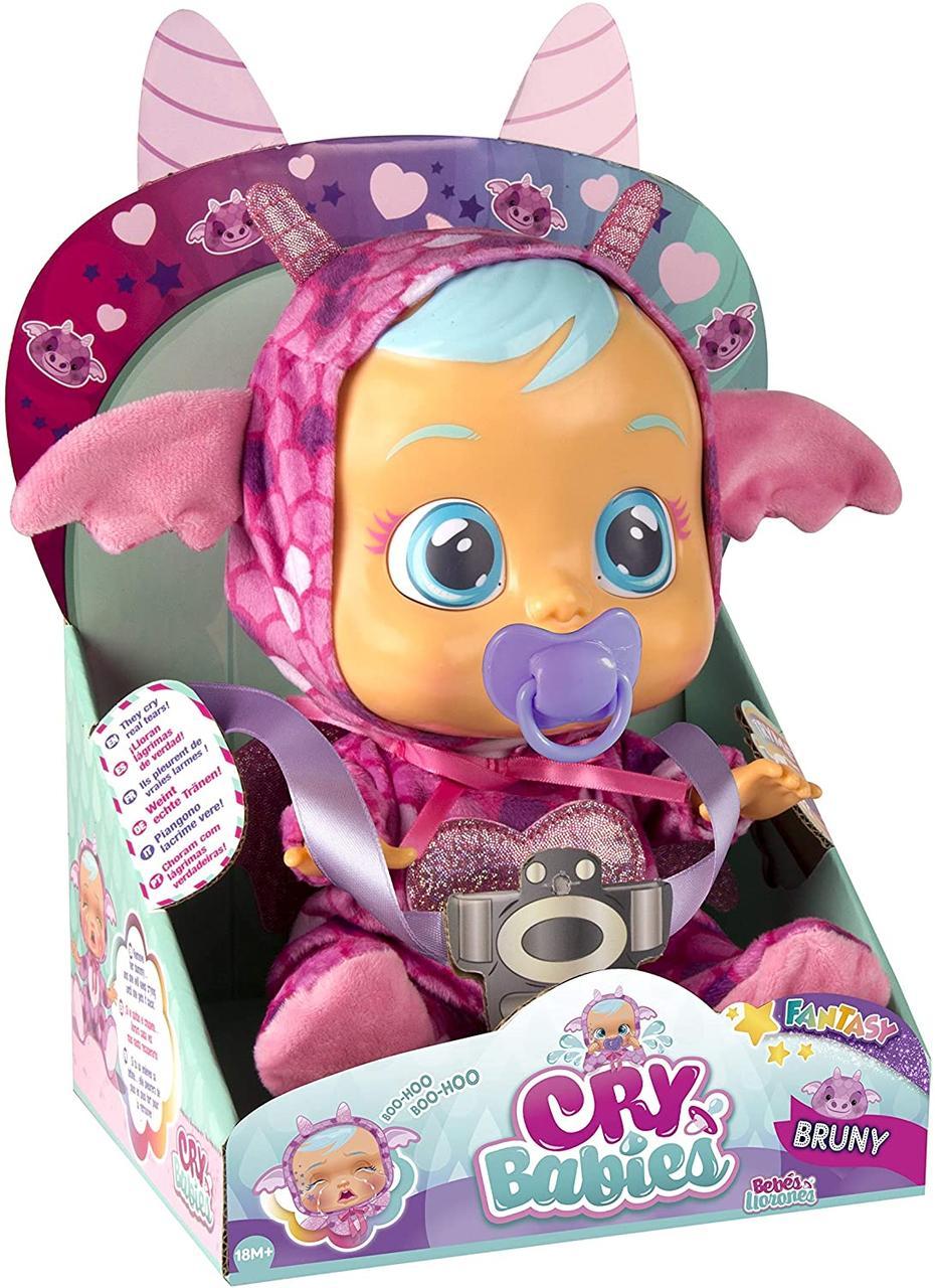 Интерактивная кукла Плакса Дракончик Плачущий пупс Cry Babies Bruny The Dragon Оригинал из США