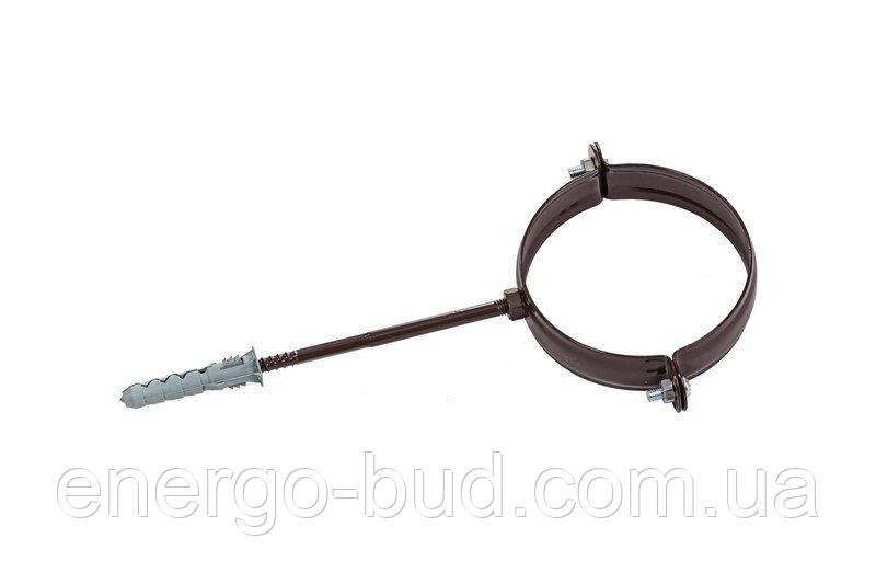 Держак труби Profil метал. L100 90 коричневий
