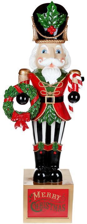 "Декоративная фигура ""Щелкунчик"" Merry Christmas 124см"