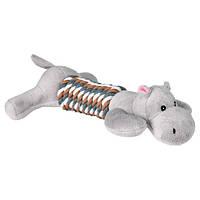 Trixie (Трикси) Assortment Animals with Rope Мягкая игрушка для собак Звери в ассортименте