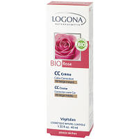 БИО-Крем для лица для сухой кожи Color Correction (CC) Роза №02 Бежевый, 40мл