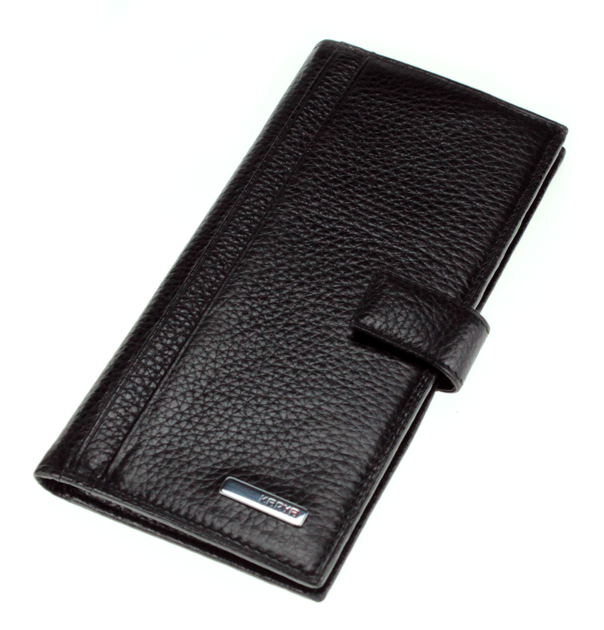 Мужское портмоне кожаное черное Karya 1093-45