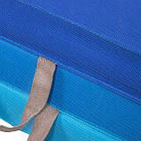 Мат гимнастический складной Springos 180 x 60 x 5.5 cм FA0063 Blue, фото 6