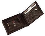 Кошелек зажим для денег Karya 0931-39 кожаный коричневый, фото 4
