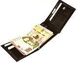 Кошелек зажим для денег Karya 0931-39 кожаный коричневый, фото 5