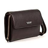 Мужская сумка барсетка Karya 0361-39 кожаная коричневая, фото 2