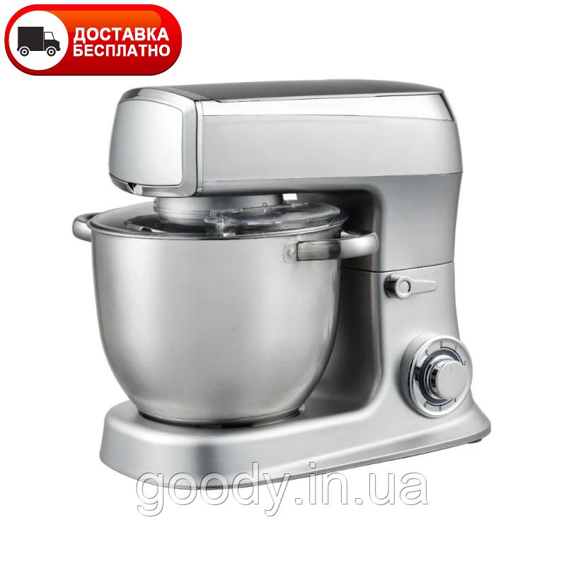 Кухонний комбайн (тістоміс) Royalty Line RL-PKM2100-SIL 2100 Вт