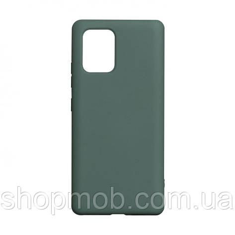 Чехол Full Case Original for Samsung S10 Lite 2020 Цвет Dark Green, фото 2
