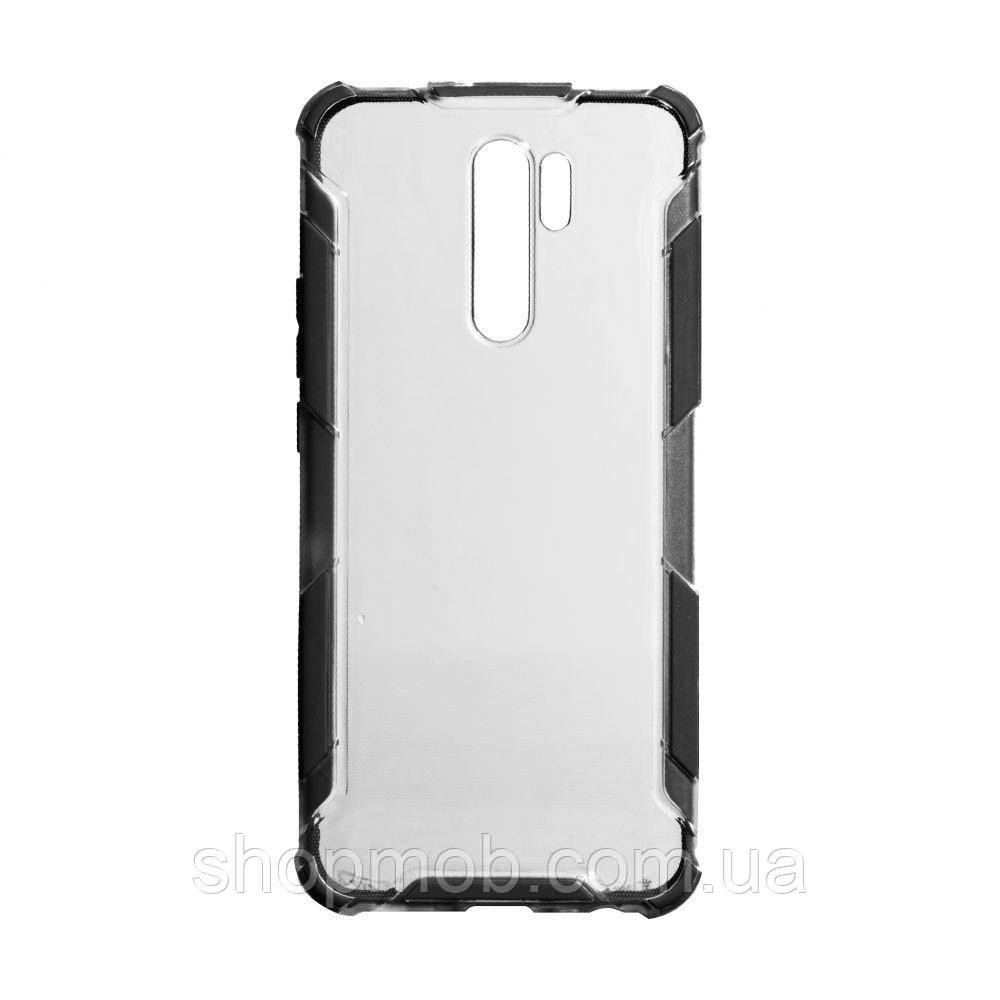 Чехол Armor Case Color Clear for Xiaomi Redmi 9 Цвет Чёрный