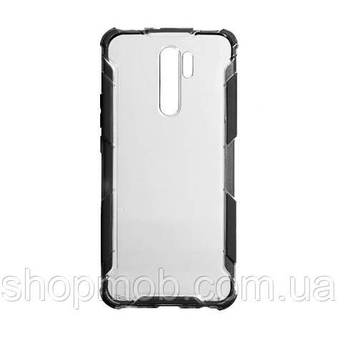 Чехол Armor Case Color Clear for Xiaomi Redmi 9 Цвет Чёрный, фото 2