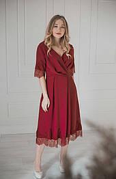Сукня червона, мереживо VEREZHIK HOUSE