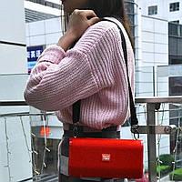 Портативная колонка T&G влагостойкая с ремнем для переноски Stereo BT Speakers Красная (TG-123-5727-03)