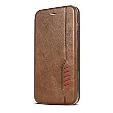 Чехол-книжка BeCover Exclusive New Style для Samsung Galaxy M31 SM-M315 Dark Brown (704934)